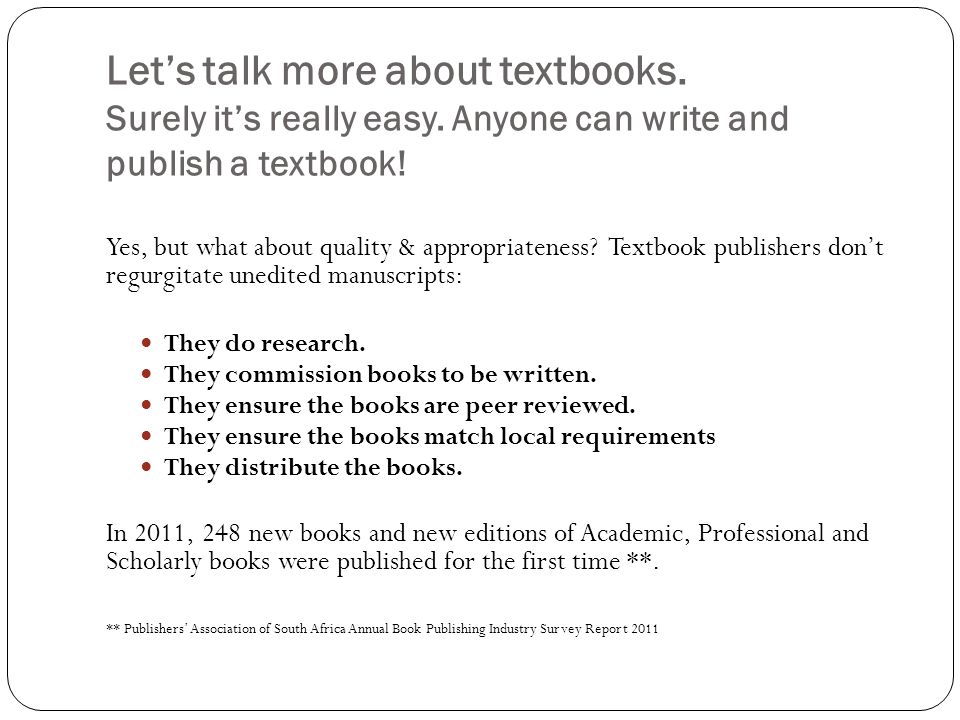 Lets talk more about textbooks.Surely its really easy.