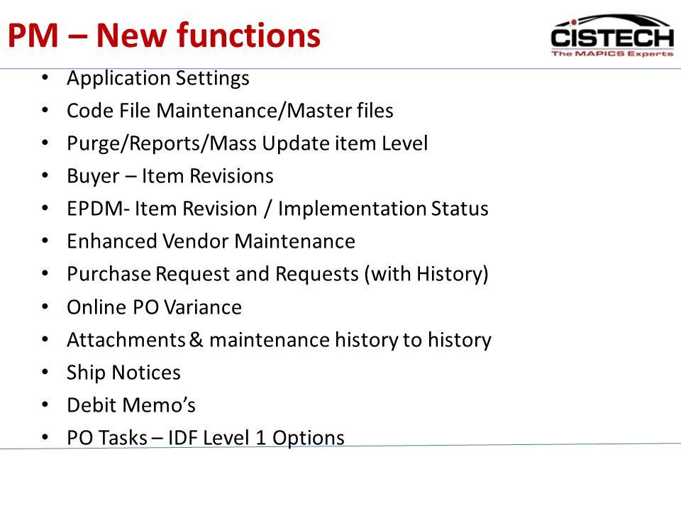 Application Settings 3