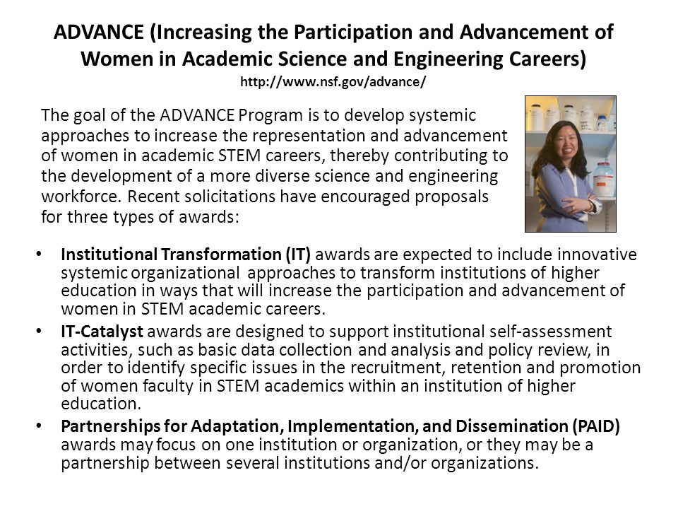 Alliances for Graduate Education and the Professoriate (AGEP) AGEP supports the transformation of institutional culture to attract, retain, and prepare URM STEM graduate students and postdoctoral trainees.