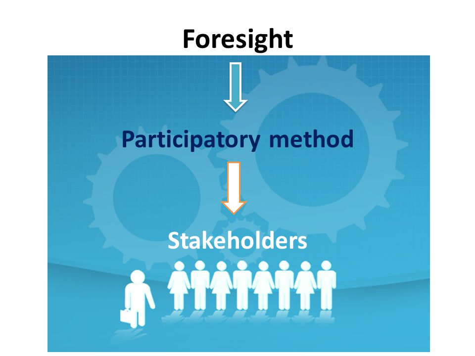 Foresight Participatory method Stakeholders