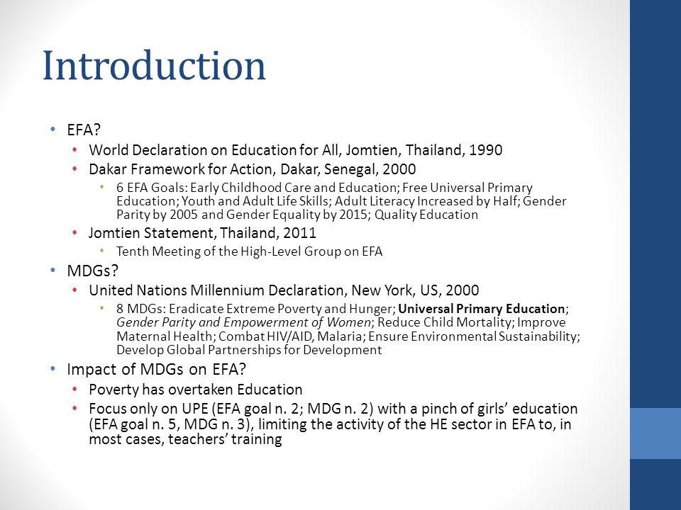 Introduction EFA.
