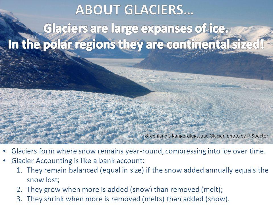 Greenlands Kangerdlugssuaq Glacier, photo by P. Spector