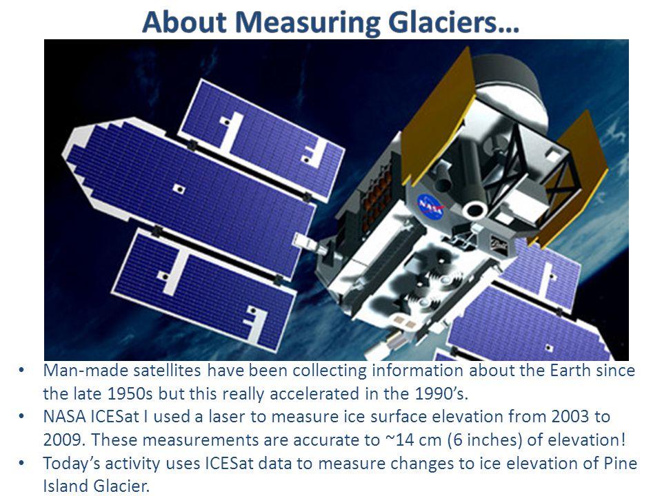Glacier flow direction