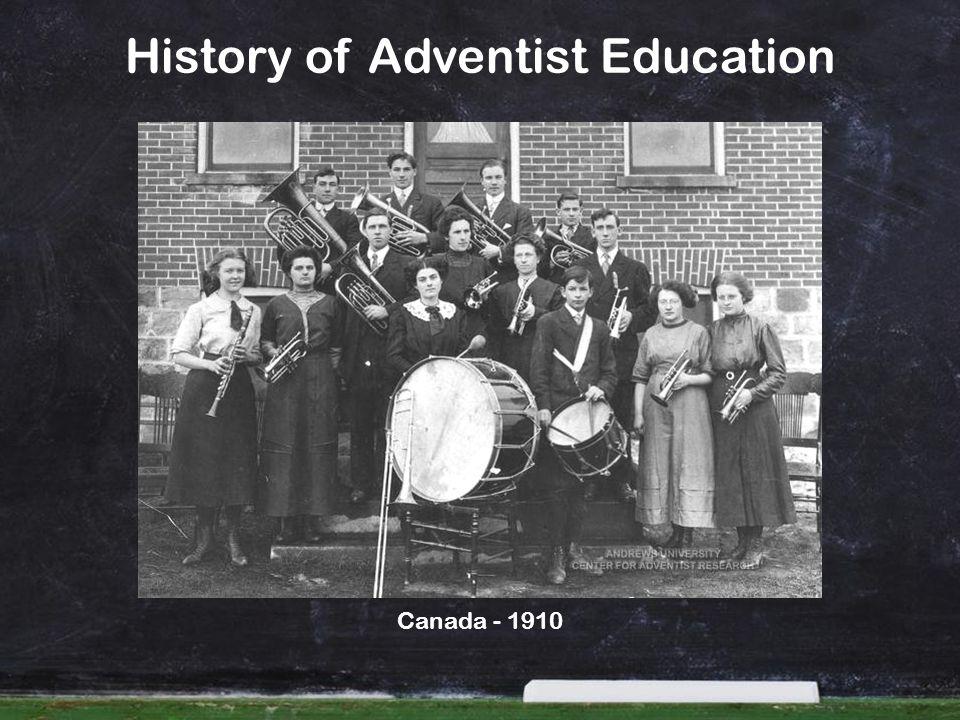 History of Adventist Education Canada - 1910
