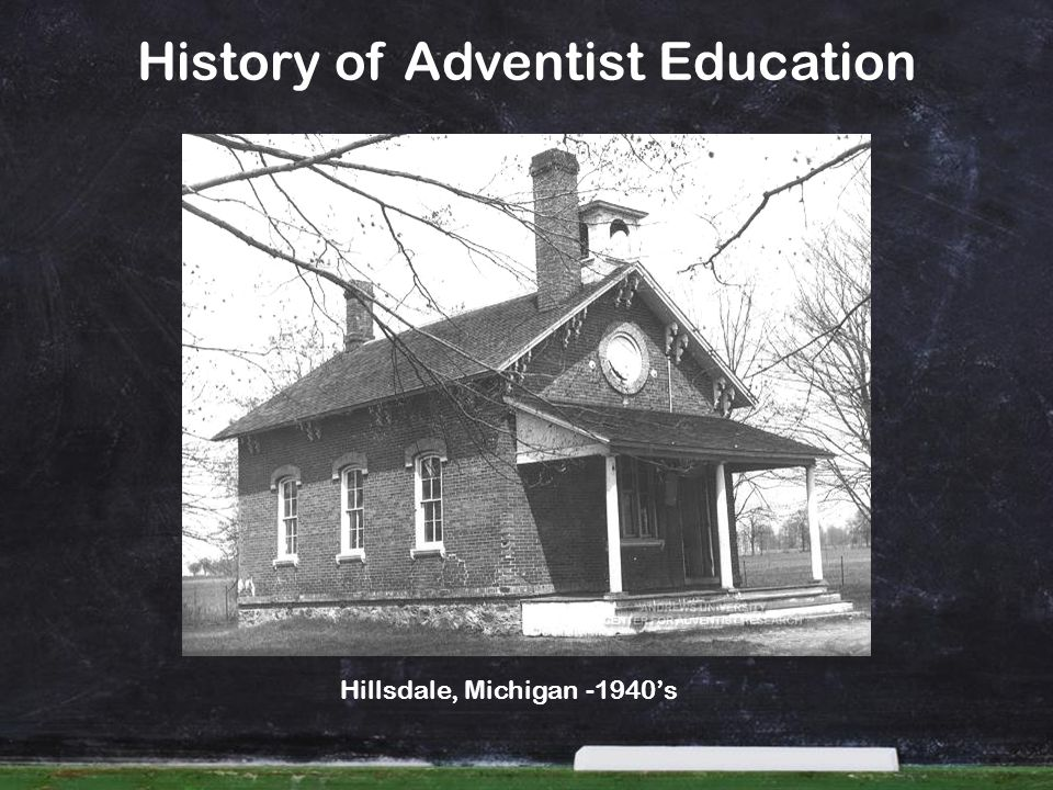 History of Adventist Education Hillsdale, Michigan -1940s