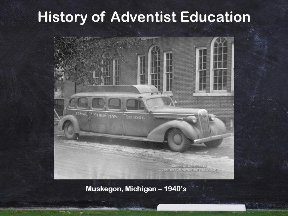 History of Adventist Education Muskegon, Michigan – 1940s