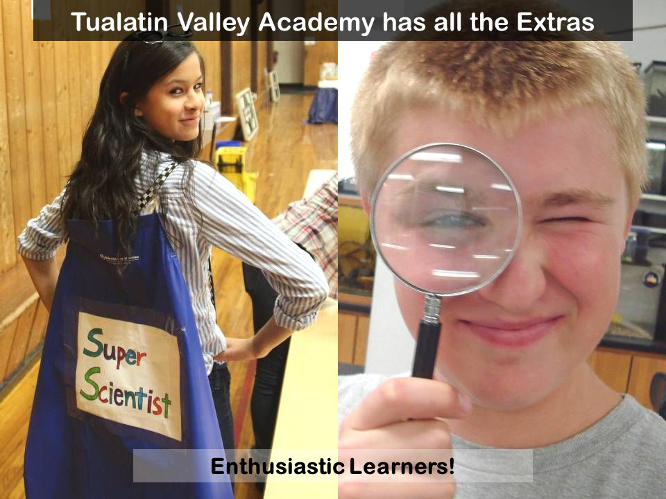 Enthusiastic Learners!