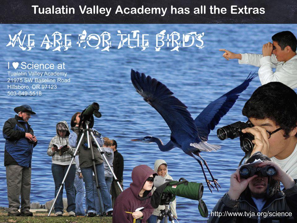 Downy Creek Bird Blind Tualatin Valley Academy has all the Extras