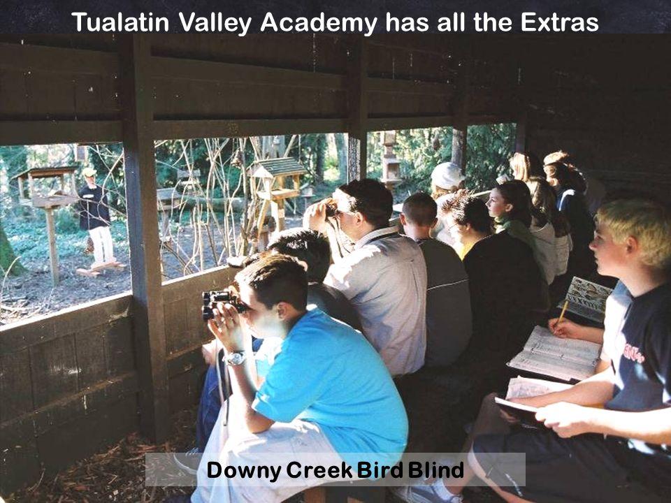 7 th & 8 th Grade Fernhill Wetlands Bird Watching Trip John Gatchet Tualatin Valley Academy has all the Extras