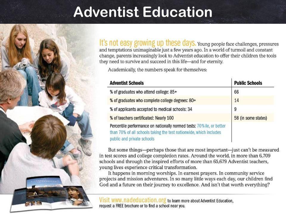 Is Adventist Education Worth It.