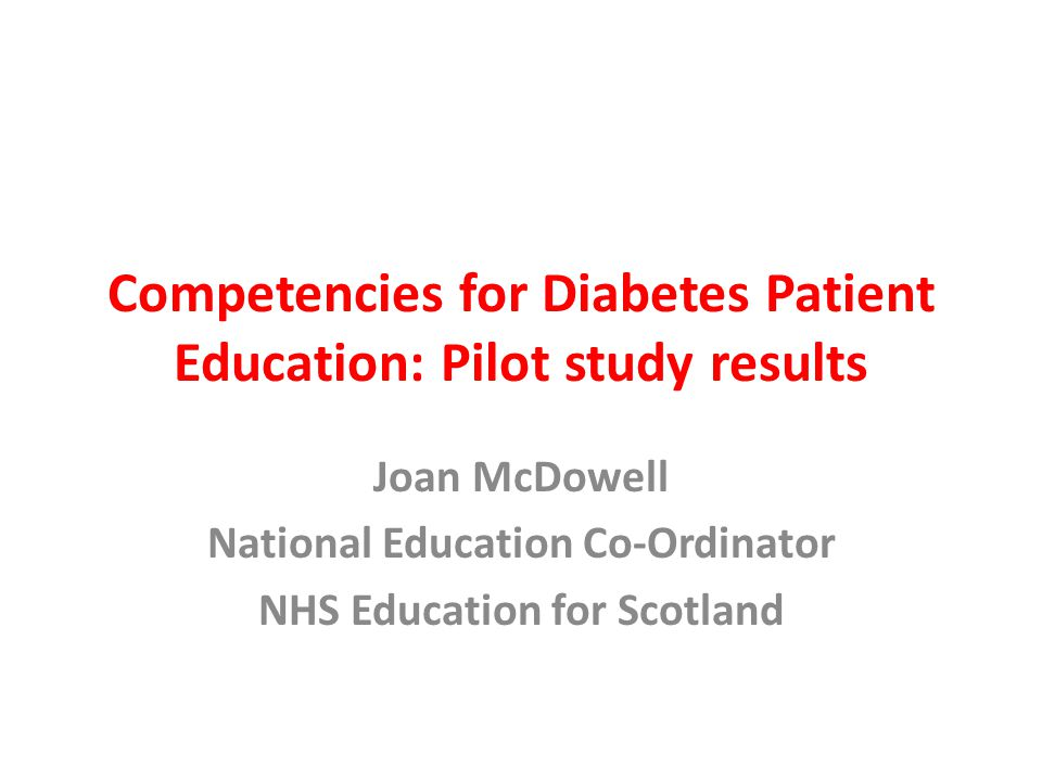 Development of competencies 88 competencies from TREND, RCN, DUK, NHS Education for Scotland (Skills for Health, RCGP, Consensus) – Knowledge based – Skills based – Philosophy Reduced to 18