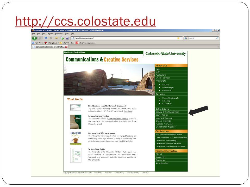 http://ccs.colostate.edu