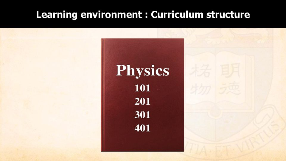 Enabling Curriculum Structure Learning environment : Curriculum structure