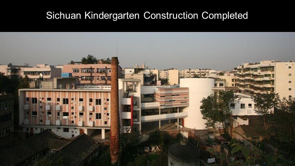 Sichuan Kindergarten Construction Completed
