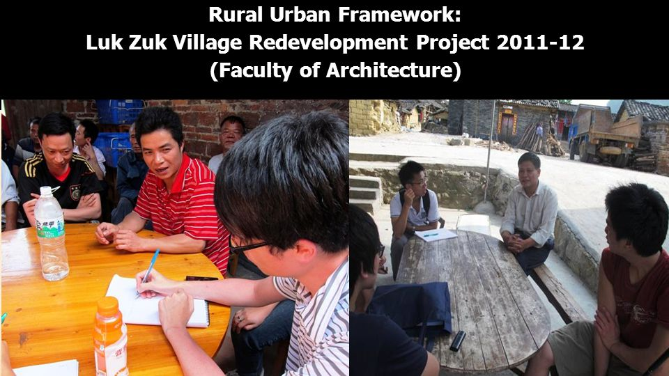 Rural Urban Framework: Luk Zuk Village Redevelopment Project 2011-12 (Faculty of Architecture)