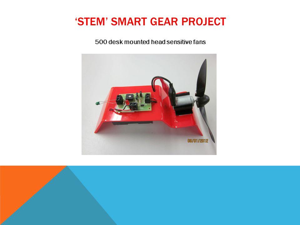 STEM SMART GEAR PROJECT 500 desk mounted head sensitive fans