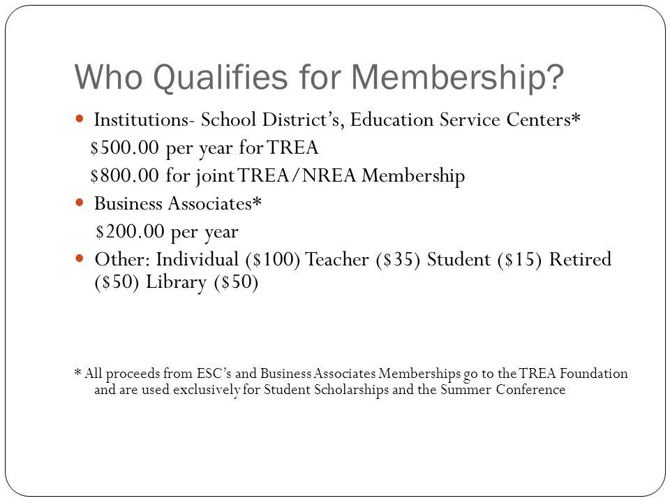 TREA Membership