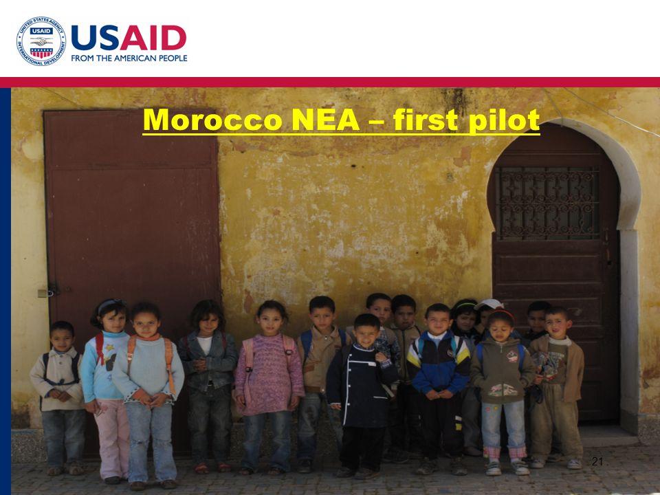 21 Morocco NEA – first pilot