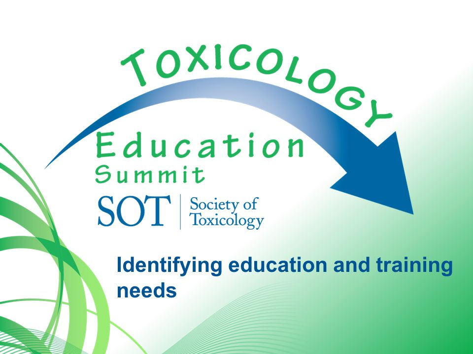 Issues Identify the education needs of the mid-career professional Identify mechanisms for effective training and retraining Evaluate the need for core competencies and certification for toxicologists Provide for those in other professions to develop toxicological perspectives and expertise.