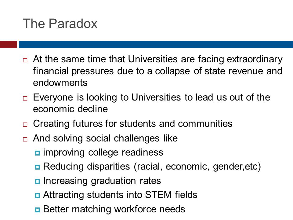 2/3 of Students Attend Schools < 50% Grad. Rate Source: IPEDS 2009 from Parthenon