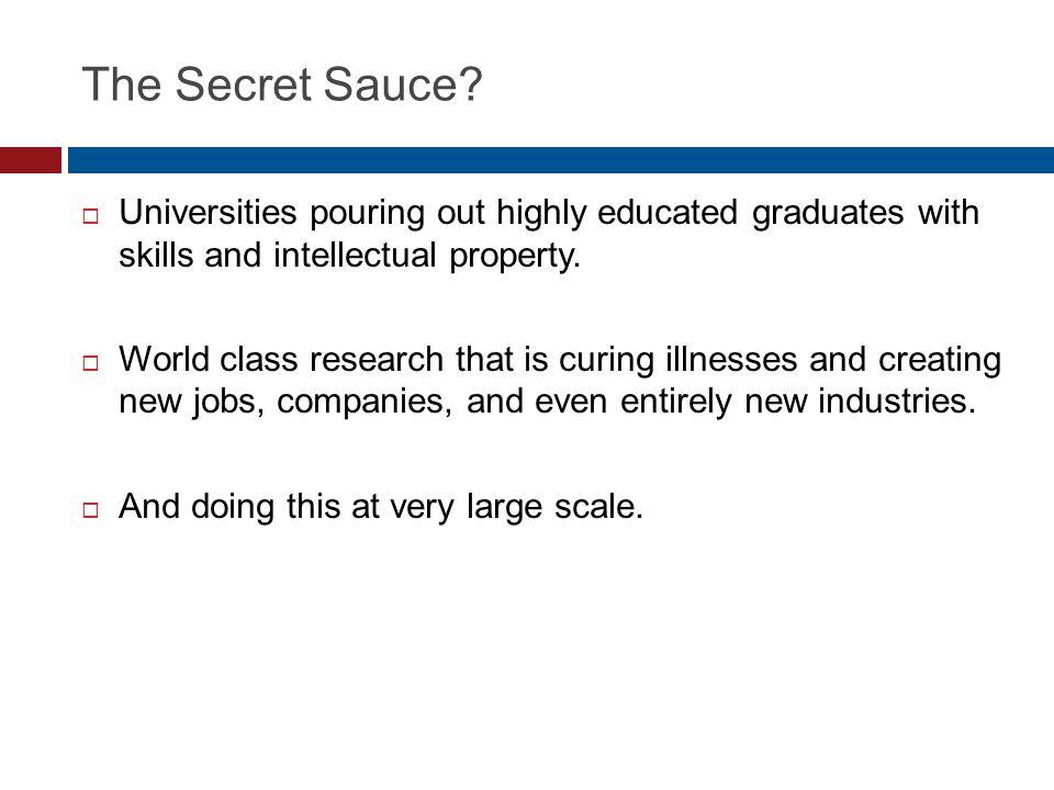 The Secret Sauce.