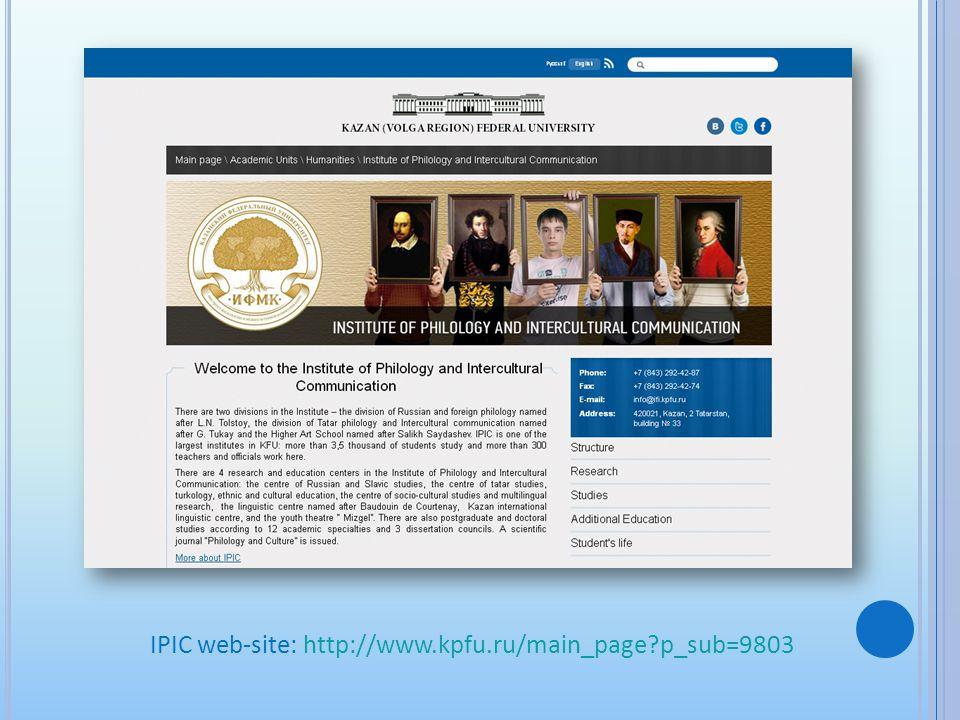 IPIC web-site: http://www.kpfu.ru/main_page?p_sub=9803