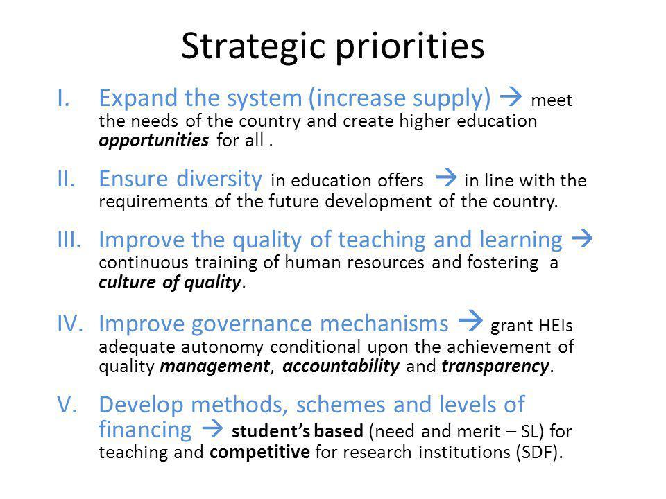 Approach: Reform & Innovation