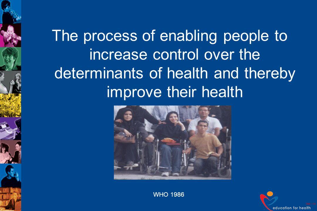 education for health DEB v109 Tannahills model Downie 1990 Health education Health protection Prevention