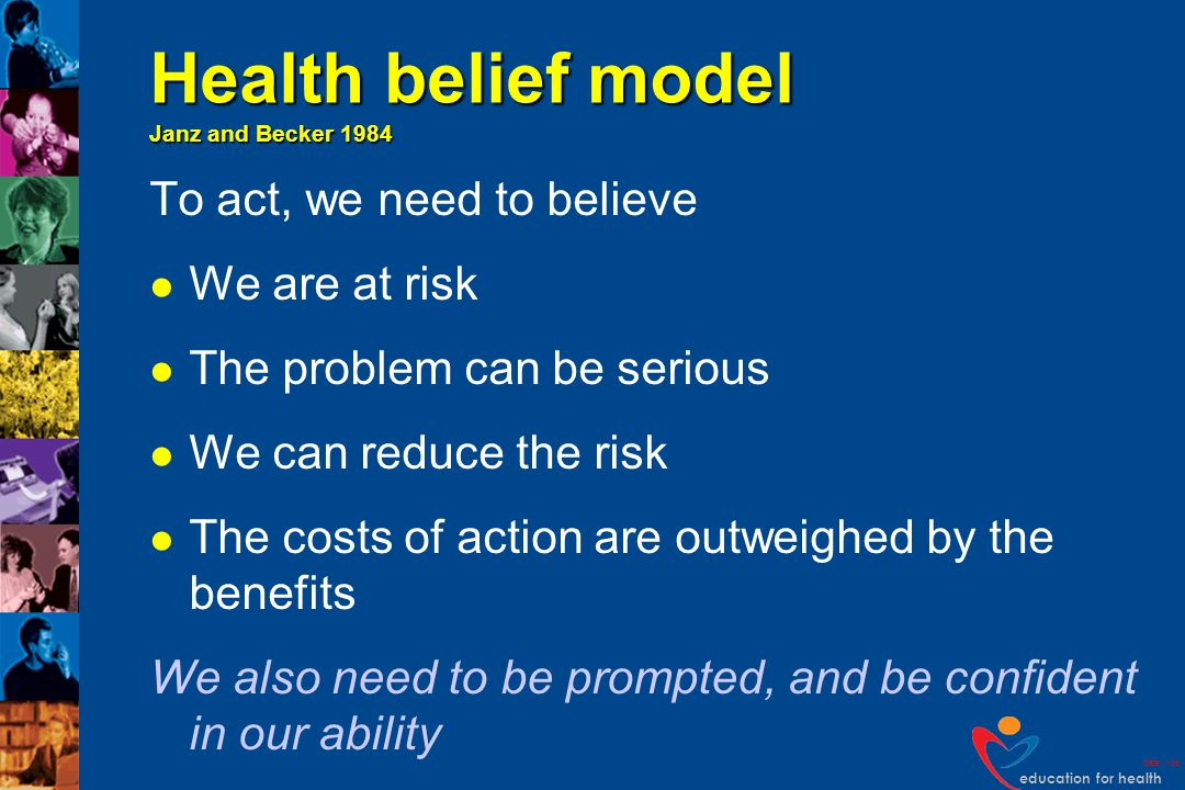 education for health DEB v109 Can you think of examples.