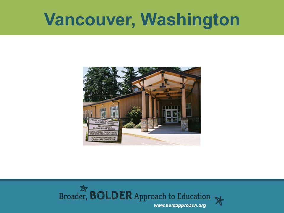 www.boldapproach.org Vancouver, Washington