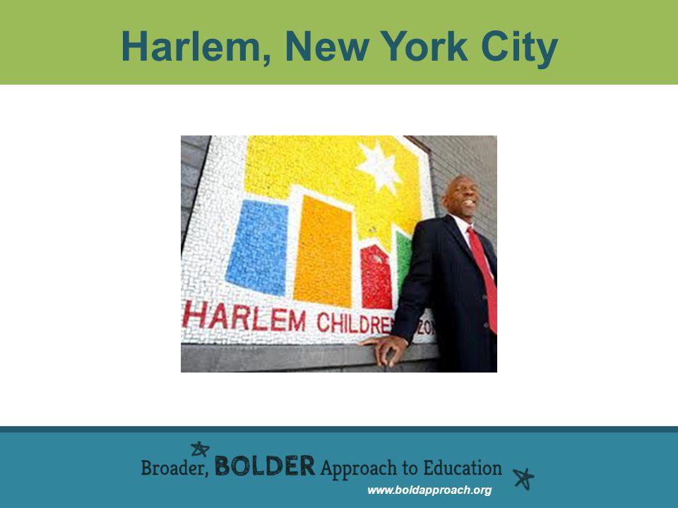 www.boldapproach.org Harlem, New York City