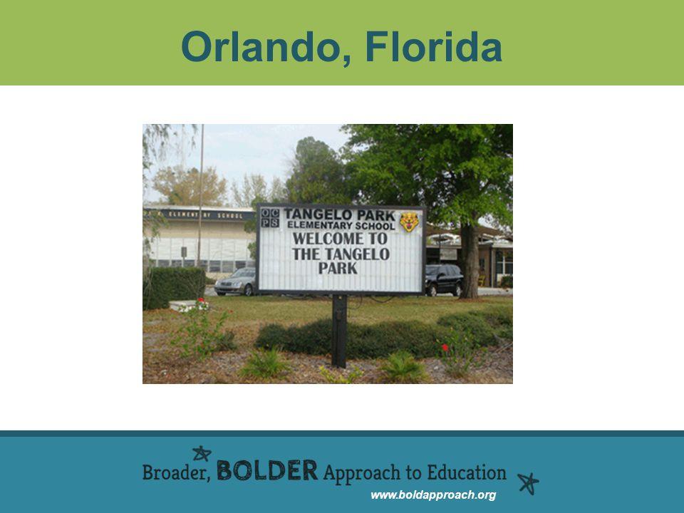 www.boldapproach.org Orlando, Florida