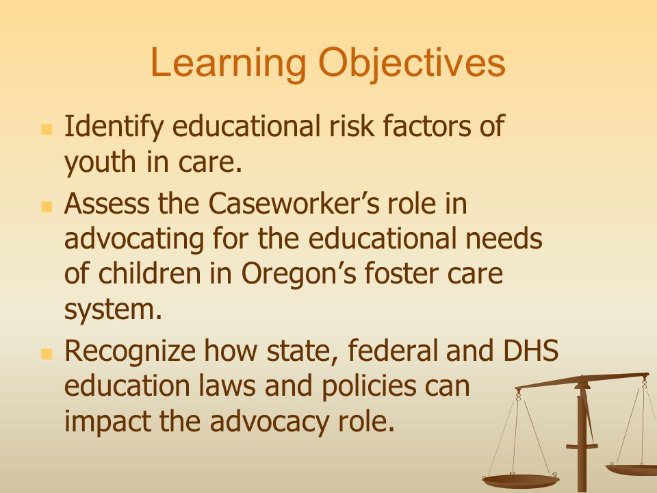 Discipline: CW Advocacy Parents/Advocates should: build rapport with staff; review records; determine support services; and obtain district discipline policies.