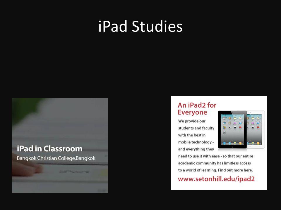 iPad Studies