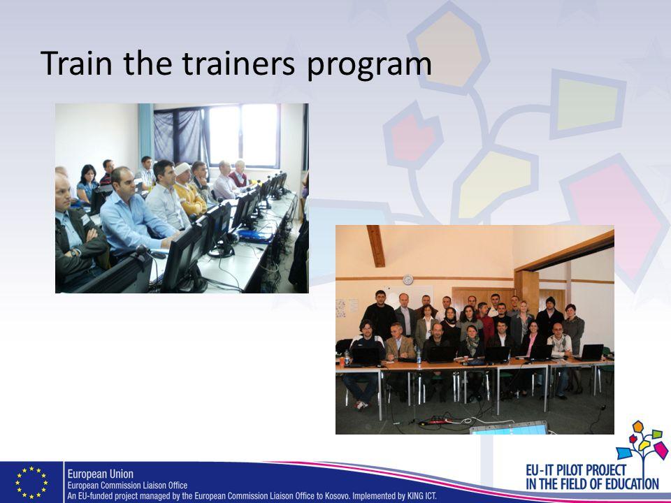 Train the trainers program