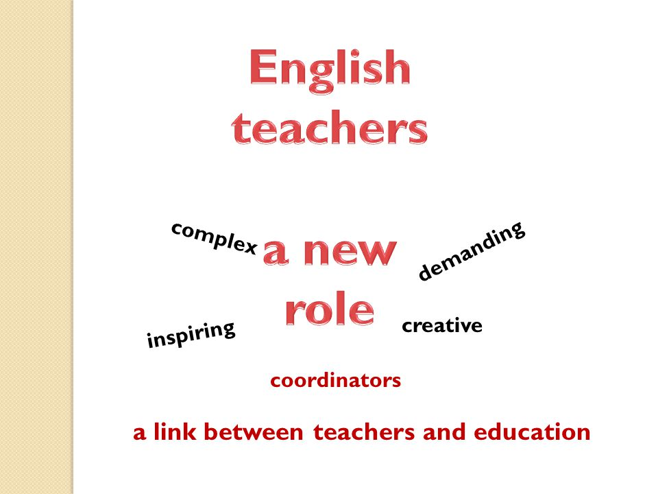 complex demanding inspiring creative coordinators a link between teachers and education