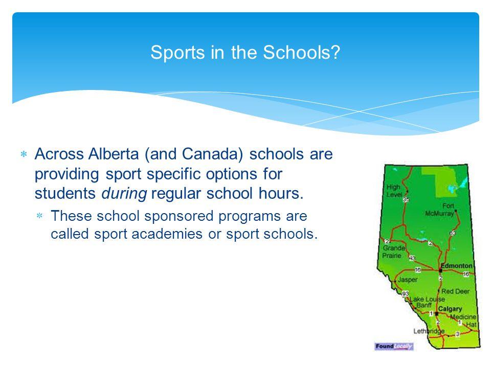 Schools Offering Sports Academies in Alberta