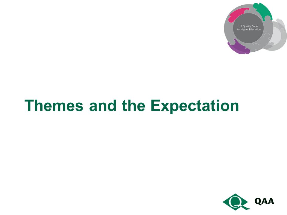 Themes and the Expectation