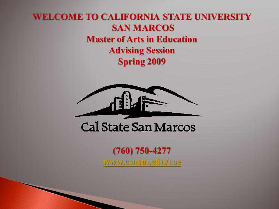 Southwest Riverside County Information (909) 676-9254 CSUSM Office of Admissions (760) 750-4848 CSUSM Office of Registration & Records (760) 750-4814 CSUSM Cashiers Office (760) 750-4491 CSUSM Student Health ServCSUSM Financial Aid Offices (760) 750-4850 CSUSM University Store (760) 750-4730 CSUSM Library (760) 750-4730 CSUSM Main Campus (760)750-4300