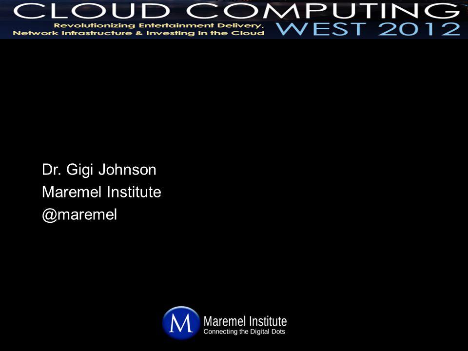 Dr. Gigi Johnson Maremel Institute @maremel
