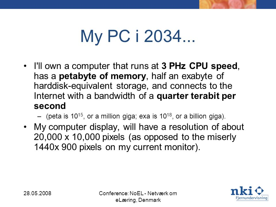 What does this mean for our PCs.