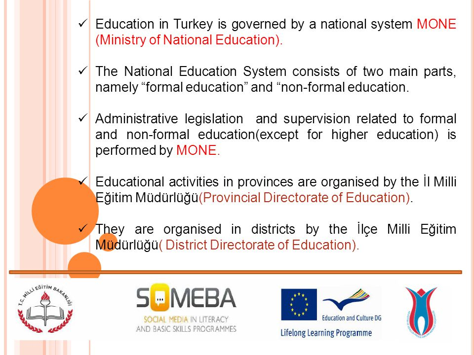 Non-formal Education sevices at all educational levels are provided substantially (more than 90%) by the public education institutions.