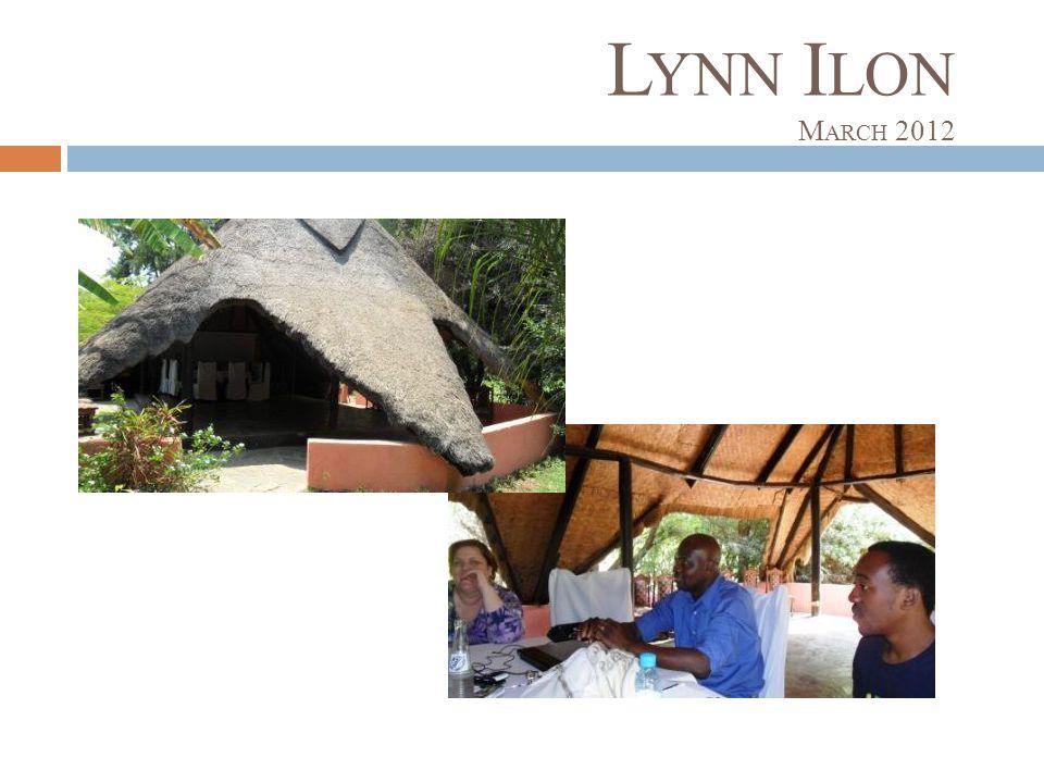 L YNN I LON M ARCH 2012