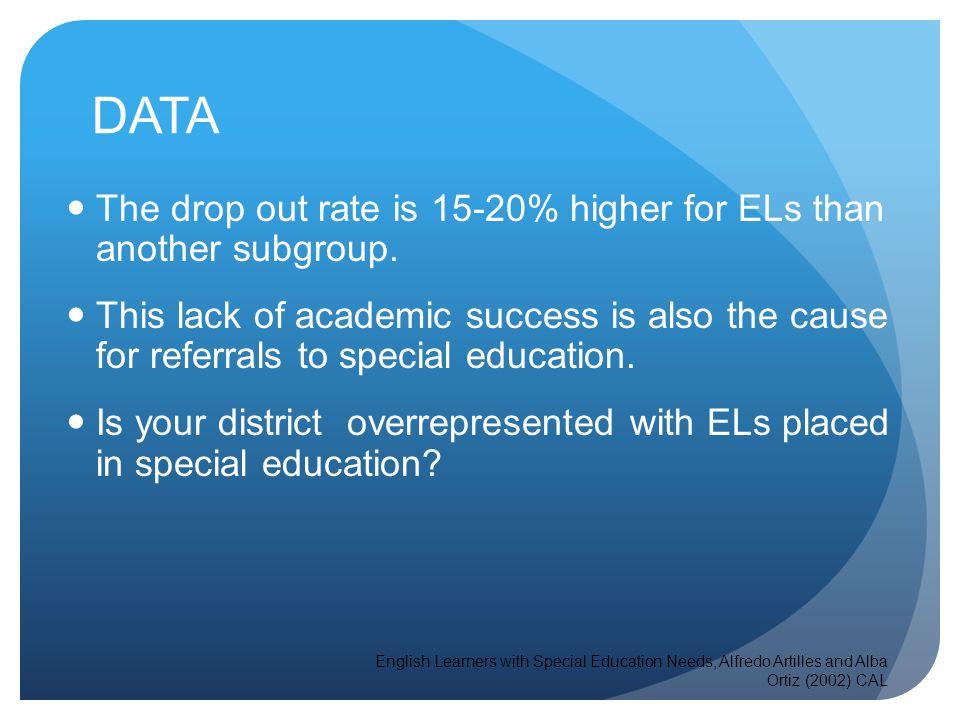 Do ELs have appropriate IEP Goals? ELD Content Area access through SDAIE