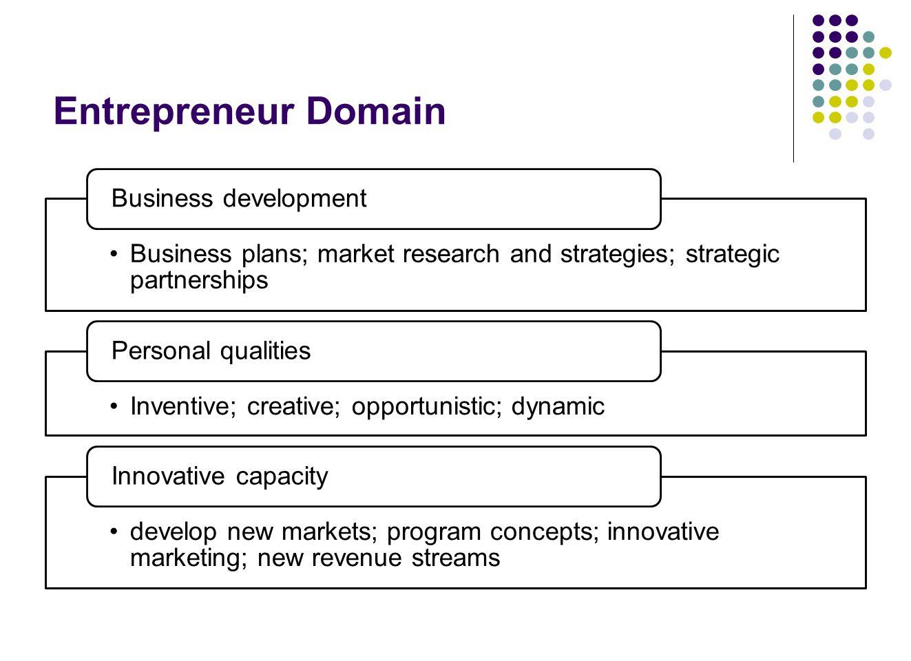 Entrepreneur Domain