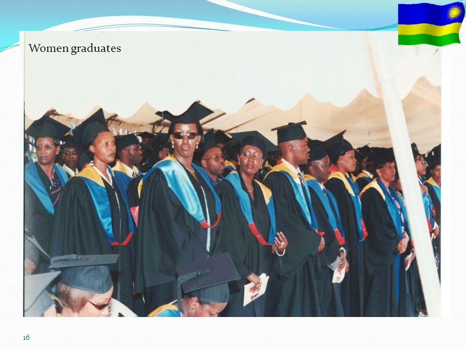 16 Women graduates