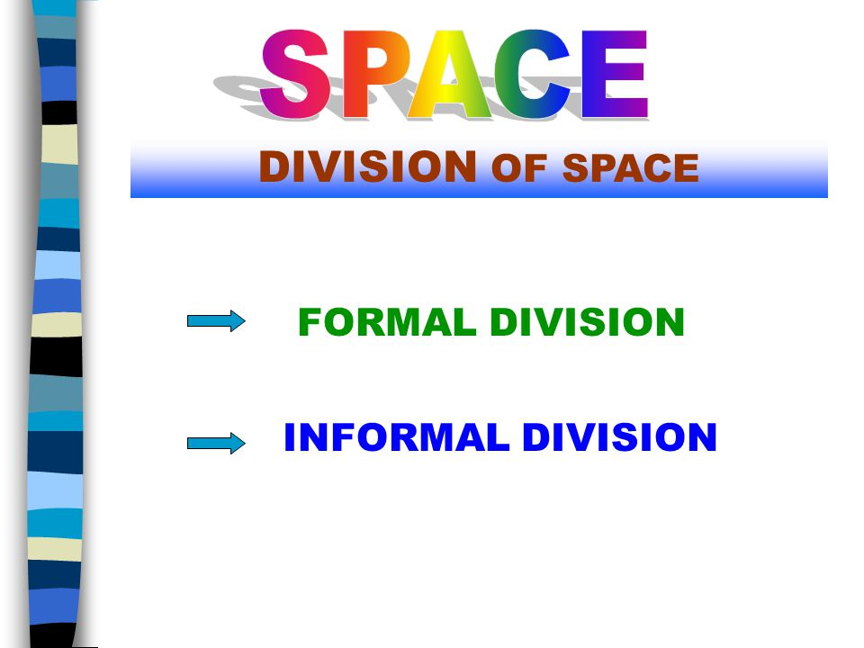 PLACEMENT OF A FORM IN SPACE DEPENDS ON THE SKILL OF AN ARTIST.