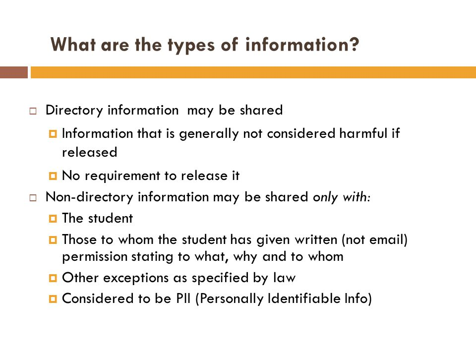 MUs directory information (Updated): Name Address Telephone number E-mail Field of study Dates of attendance Enrollment status (e.g.