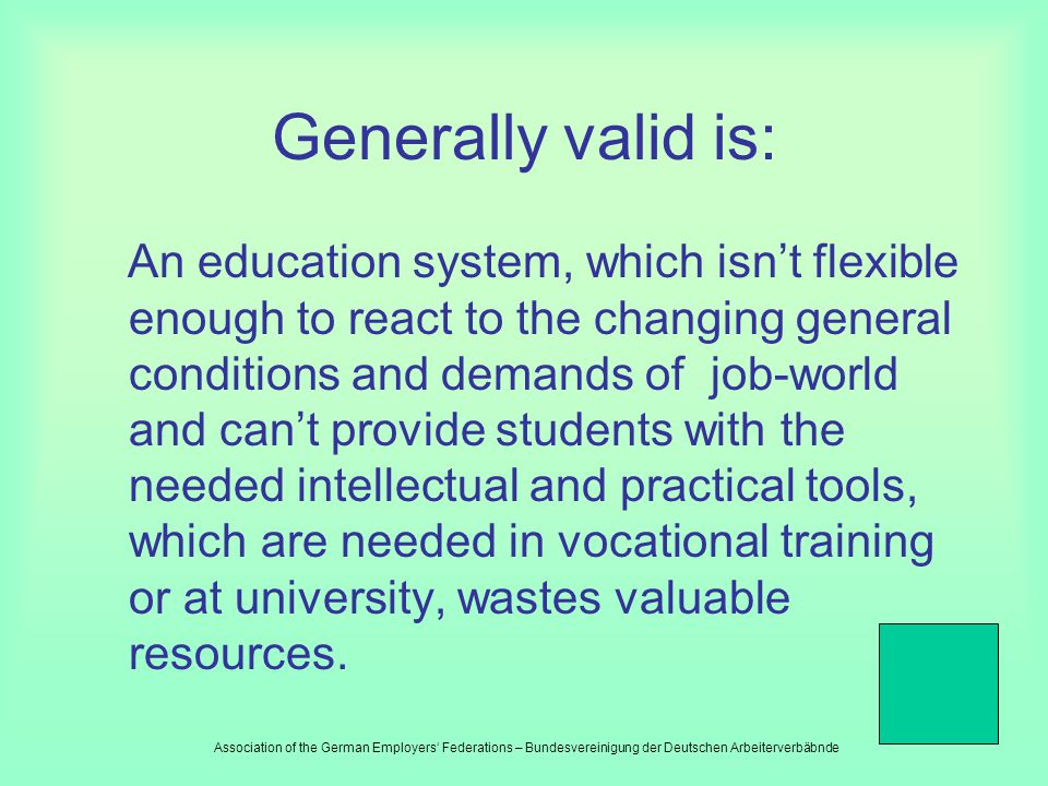 The level of achievements at school of individual subjects and age groups need to be defined unequivocally and its solution needs to be evaluated cont
