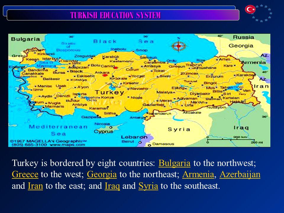 TURKISH EDUCATION SYSTEM Turkey-Regional
